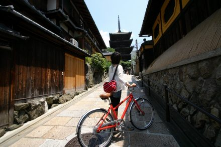 kioto bicicleta